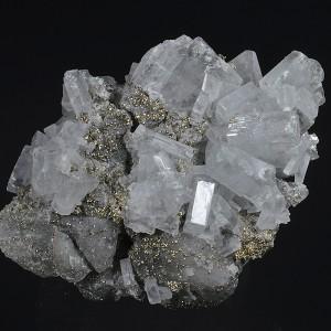 Baryte, Pyrite, Calcite