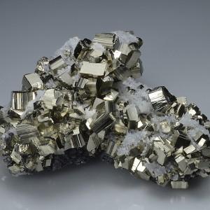 Pyrite, Quartz, Sphalerite - floater