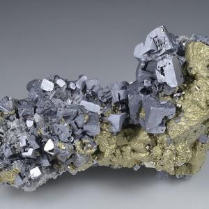 skeletal Galena, Chalcopyrite, Quartz, Sphalerite, Pyrite