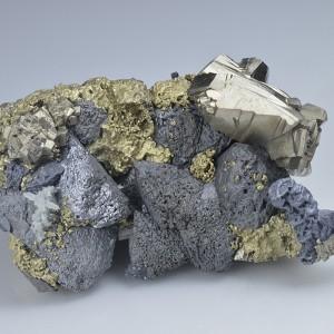Chalcopyrite, Sphalerite, Pyrite, Galena