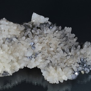 Quartz, Galena, Sphalerite, Chalcopyrite, Pyrite, Calcite