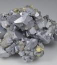 Galena, gem Sphalerite var.Cleiophane, Chalcopyrite, Pyrite - floater