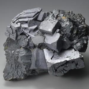 twinned and truncated Galena, gem Sphalerite var.Cleiophane