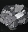 twinned and truncated Galena, Quartz, Chalcopyrite