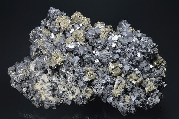 Galena, Pyrite, Sphalerite, Quartz, Chalcopyrite