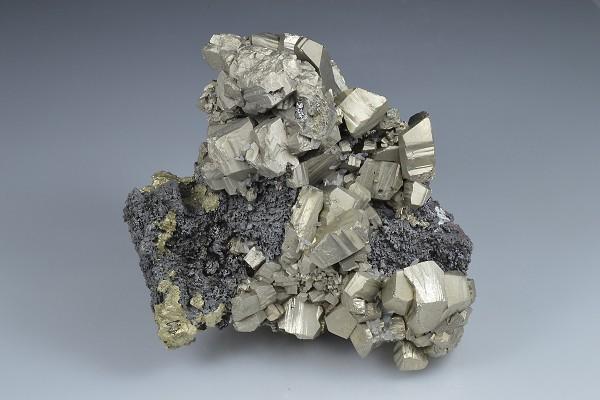 Pyrite, Sphalerite, Chalcopyrite