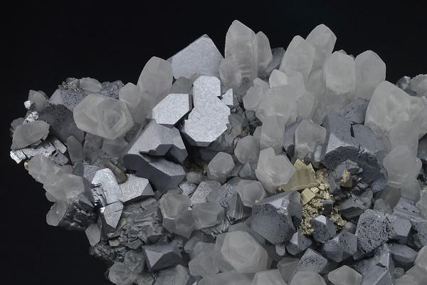 Quartz, Galena, Sphalerite, Pyrite, Chalcopyrite