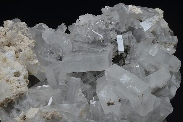 Baryte, Calcite