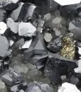 Galena, Quartz, Pyrite, Sphalerite