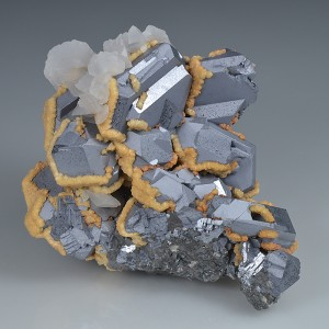 spinel law twin Galena, Calcite