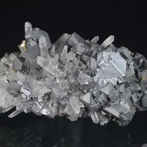 Sphalerite, Quartz, Galena, Pyrite