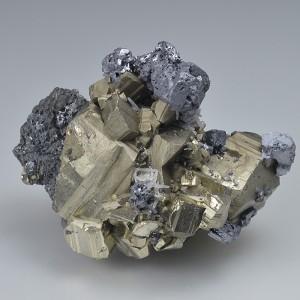 Pyrite, Galena, Sphalerite, Quartz