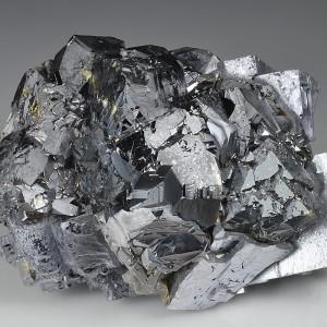 skeletal Galena, gem.Sphalerite var.Cleiophane